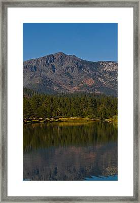 Cool September Days Framed Print by Mitch Shindelbower