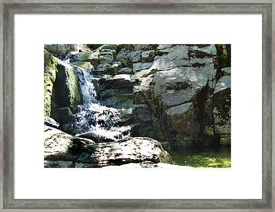 Cool Summer Water Framed Print