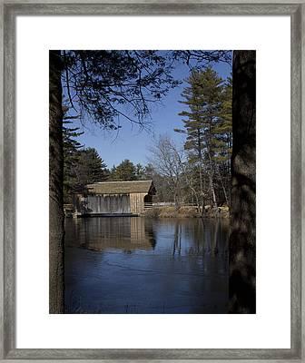 Cool Winter Morning Framed Print
