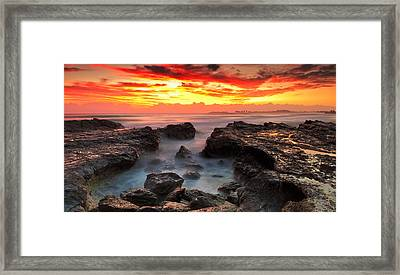 Coolongatta Gold Framed Print