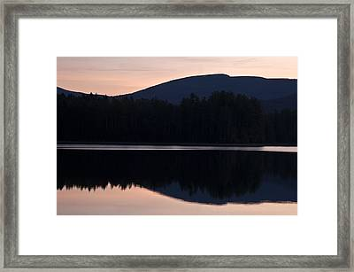 Framed Print featuring the photograph Cooper Lake Dawn by Nancy De Flon