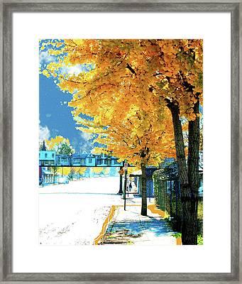 Cooper Street Memphis Framed Print