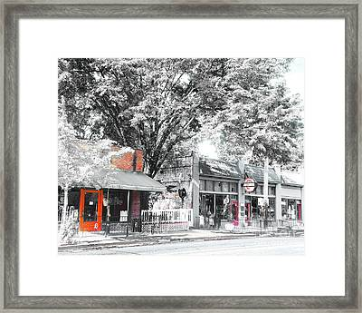 Cooper Young Places Framed Print