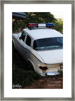 COP Framed Print by Awildrose Photography