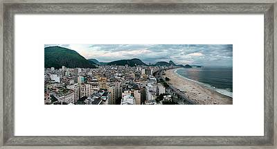 Copacabana Sunset Framed Print