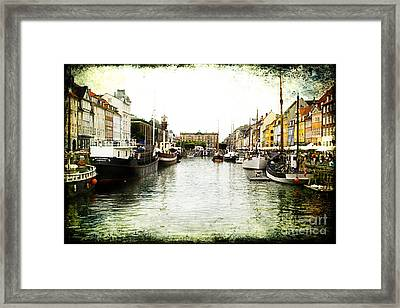 Copenhagen Denmark Framed Print by Joan McCool