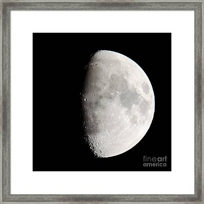 Copernicus Sq In Oceanus Procellarum The Monarch Of The Moon Framed Print by Andy Smy