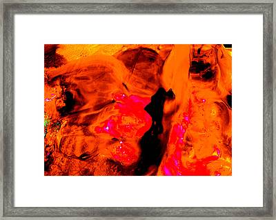 Copper Framed Print by Colleen Cannon