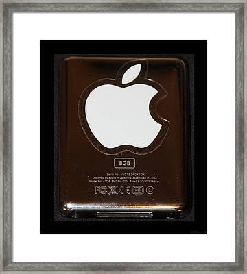 Copper Ipod Framed Print