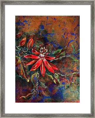 Copper Passions Framed Print