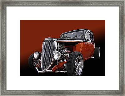 Copperod Framed Print by Bill Dutting
