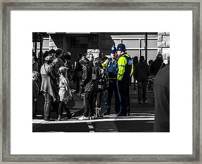 Coppers Framed Print