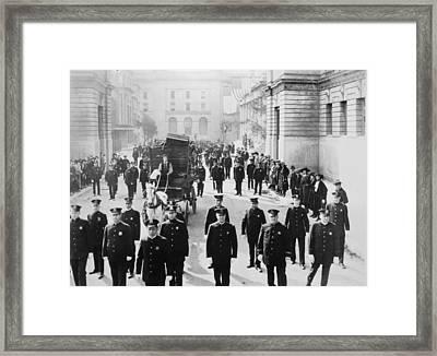 Cops, 1922 Framed Print by Granger
