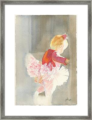 Cora In Strong Light 2 Framed Print by Lori Johnson