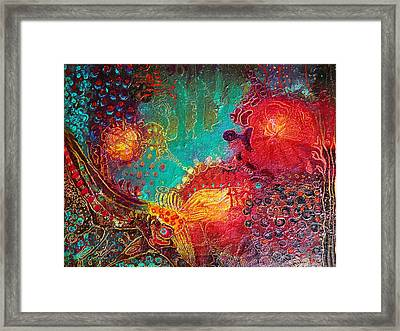 Coral World Framed Print by Lolita Bronzini
