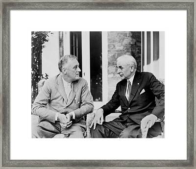 Cordell Hull 1871�1955, Served Framed Print by Everett