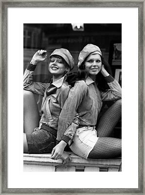 Corduroy Jackets Framed Print by Evening Standard