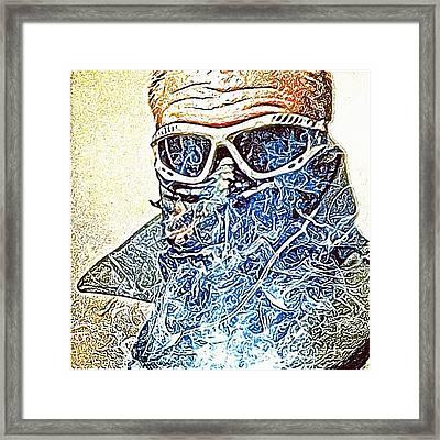 Coretouched ~ Corron Xtrillion Framed Print