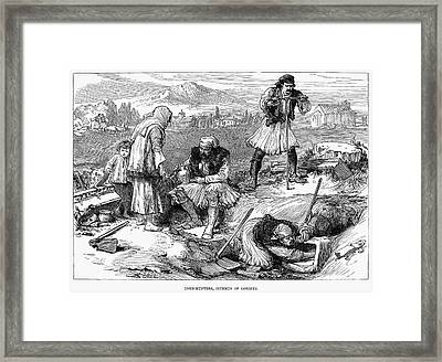 Corinth: Grave Robbers Framed Print