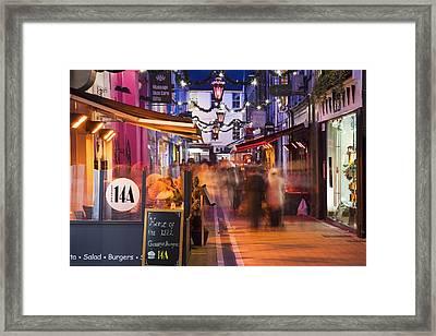 Cork, County Cork, Ireland A City Framed Print by Peter Zoeller