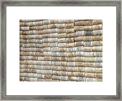 Cork Stoppers Framed Print by Aleksandr Volkov