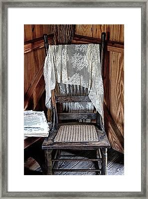 Corner Chair Framed Print