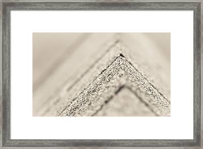 Corner Depth Framed Print by Jason Heckman