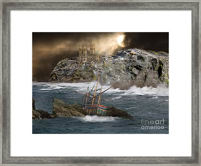 Cornish Wreckers Framed Print