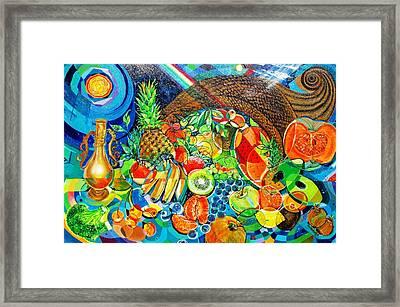 'cornucopia' Framed Print by Mario Villareal