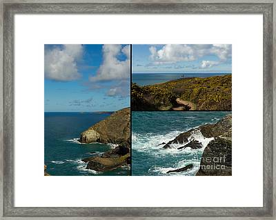 Cornwall North Coast Framed Print by Brian Roscorla
