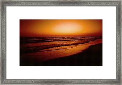 Corona Del Mar Framed Print