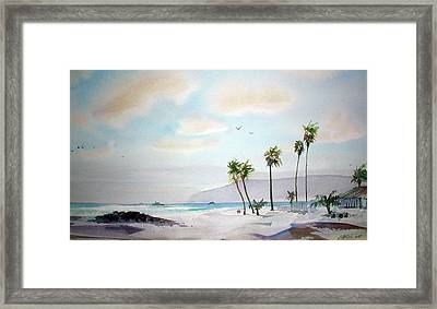 Coronado Afternoon Framed Print