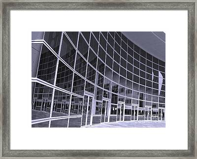 Corporate Building Framed Print by Yali Shi