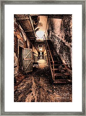 Corridor Creep Framed Print