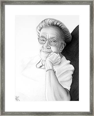 Corrie Ten Boom Framed Print