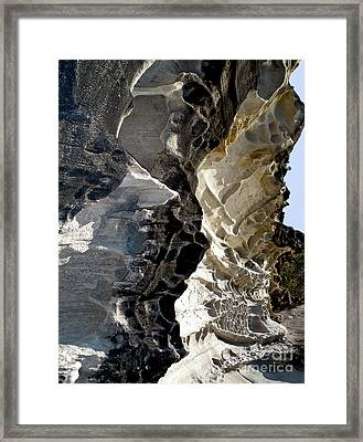 Corrosion By Nature Framed Print by Kaye Menner