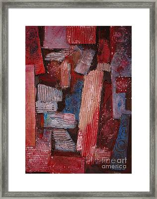 Corrugated Framed Print by Stephen Roberson