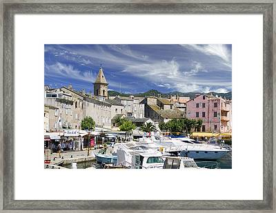 Framed Print featuring the photograph Corsica by Rod Jones