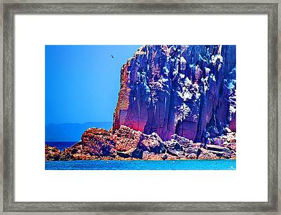 Cortez Lava Framed Print by Russ Harris