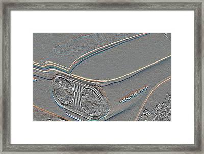 Corvairrrrr Framed Print by Chuck Re