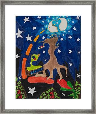 Cosmic Ancestry Framed Print