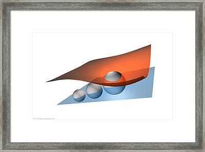 Cosmic Brane Framed Print by Don Dixon