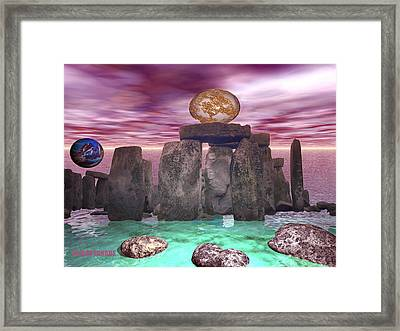 Cosmic Dance 3 Framed Print
