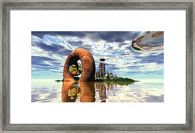 Cosmic Dance 4 Framed Print