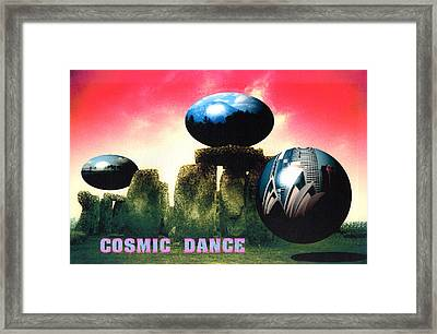 Cosmic Dance Framed Print