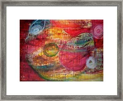 Cosmic Eggs Framed Print by Oriya Rae