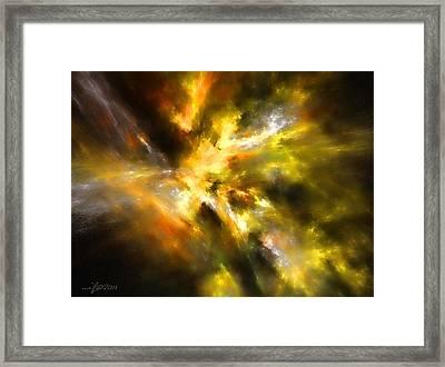 Cosmic Empire Framed Print by Maciek Froncisz