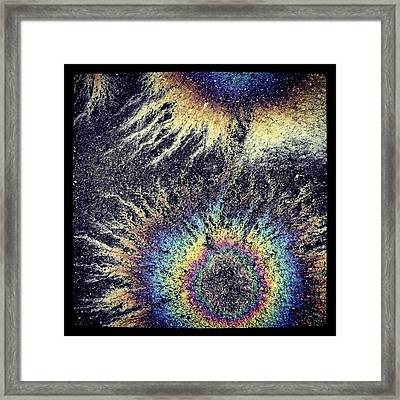 Cosmic Oil-b Framed Print