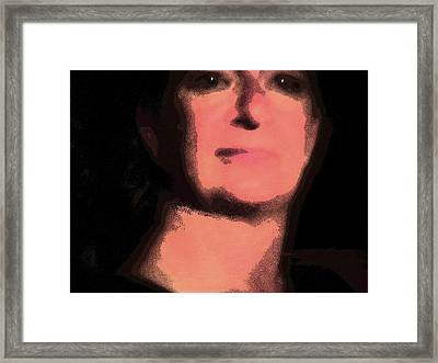 Cosmic Old Master Self Portrait 2 Framed Print