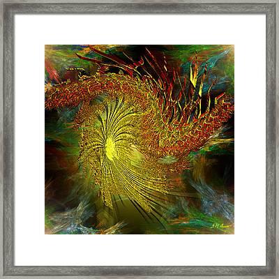 Cosmic Pinwheel Framed Print